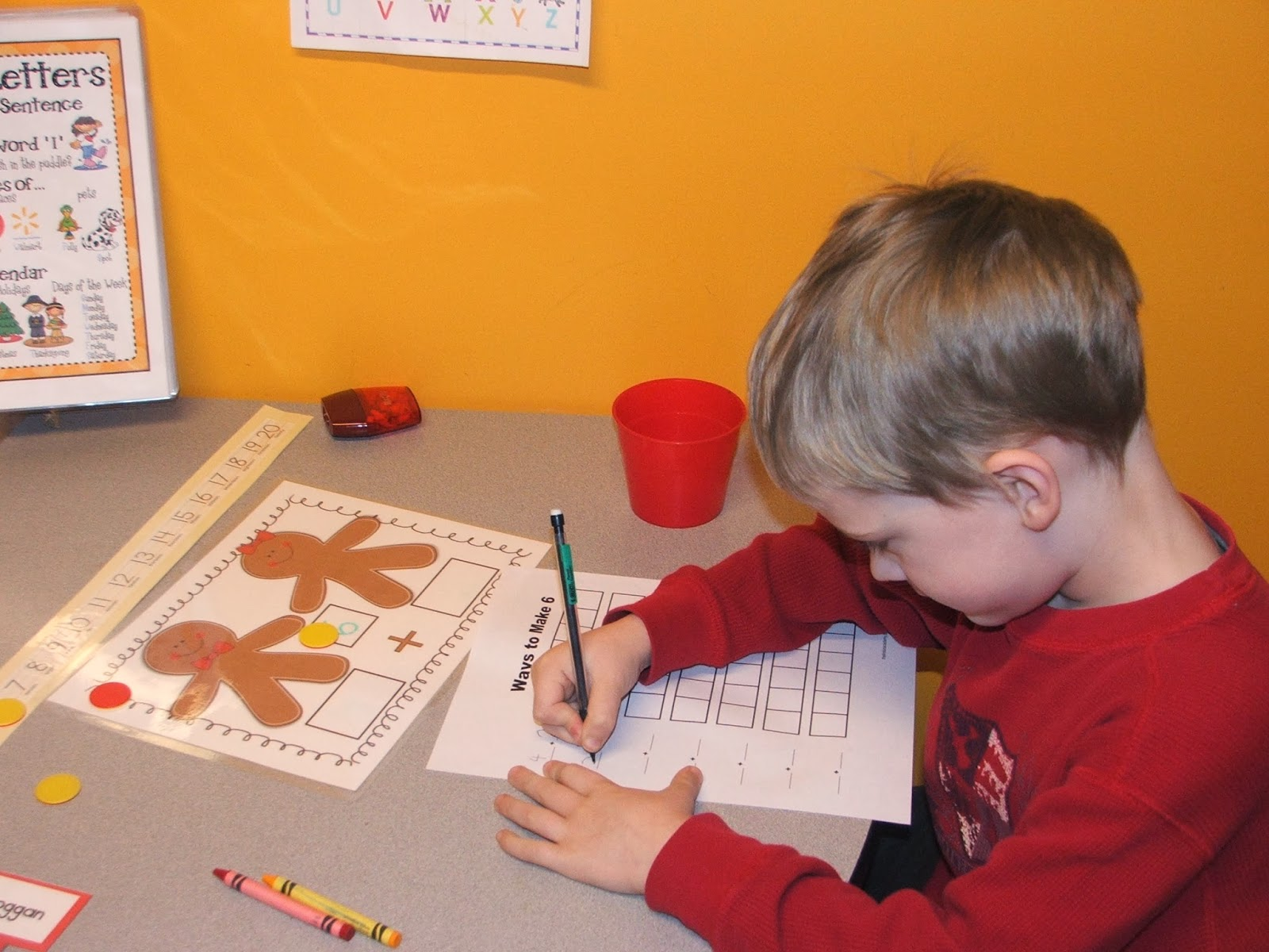 Highland Heritage Homeschool Christmas Fun In Kindergarten
