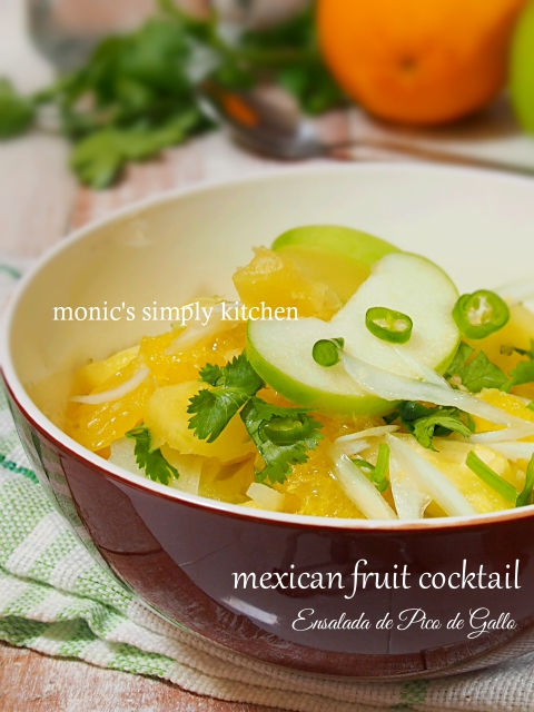 mexican fruit cocktail