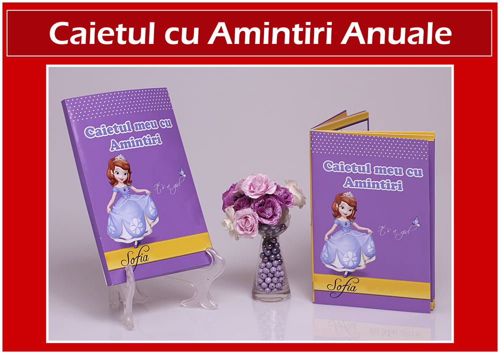 CAIET AMINTIRI ANUALE