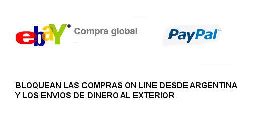 Ebay bloquea las compras de ropa en Argentina
