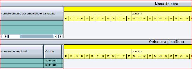 Tabla de planificacion de capacidades grafica