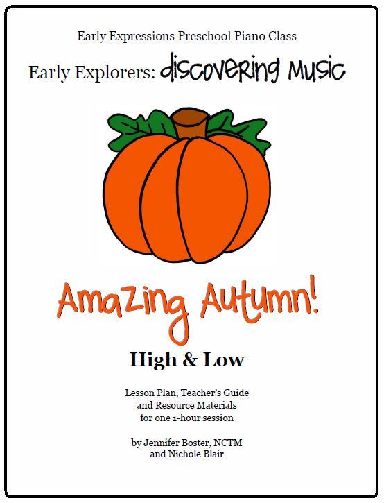 Amazing Autumn Lesson Plan!