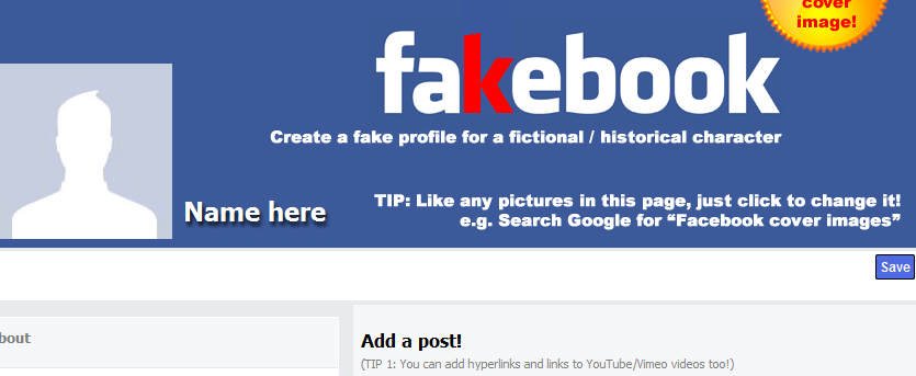 7 Amazing Facebook templates to use in the Classroom ~ Teachers ...