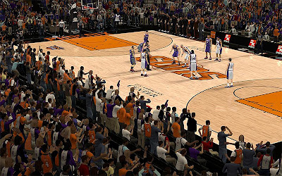 NBA 2K13 Phoenix Suns Crowd Fix