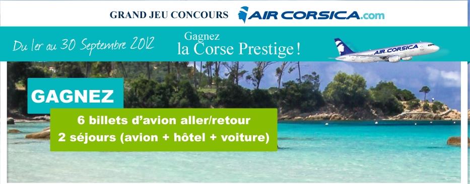 Mademoiselle Bons Plans 2 S 233 Jours En Corse Et 6 Billets D