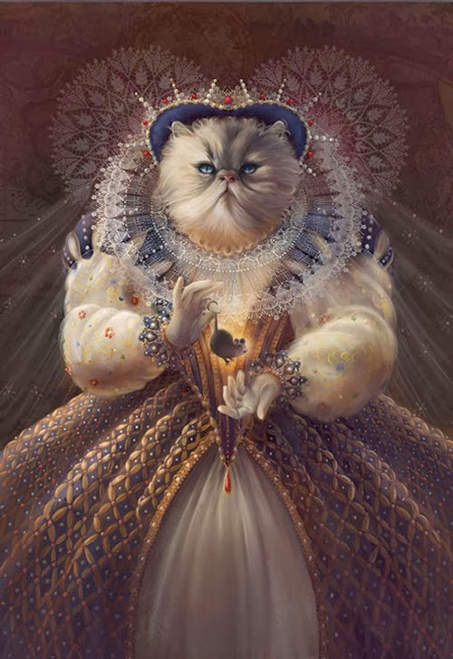 09-Queen-Elizabeth-I-Animals-From-History-Illustrator-&-Writer-Christina-Hess-www-designstack-co