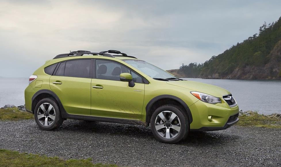 2014 Subaru XV Crosstrek hybrid green