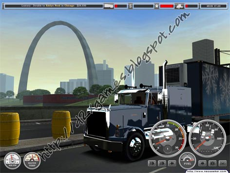 Free Download Games - 18 Wheels Of Steel Haulin
