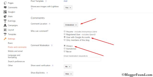 Decreasing Comment Spam on BlogSpot Blogs Default system