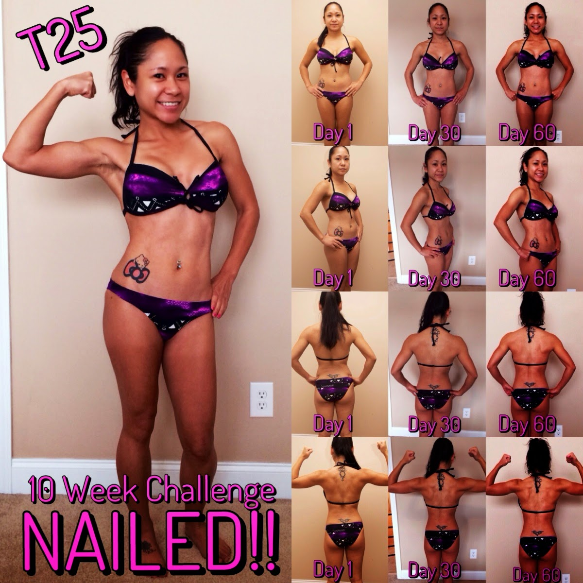 Road To A Healthier Amp Happier Life T25 10 Week Final