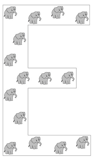 Muck monsters letter ee is for elephantlacing template letter ee is for elephantlacing template spiritdancerdesigns Choice Image