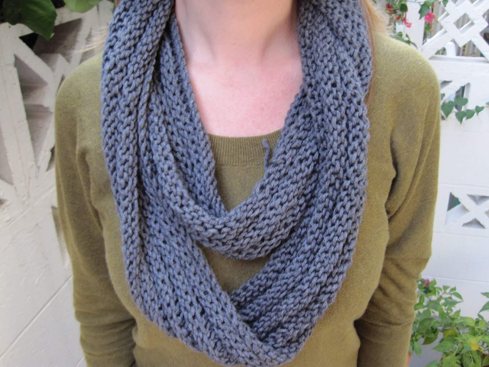 The Pickled Herring: New knit cowl for \