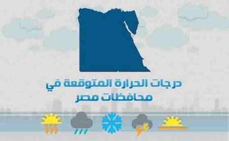 «الأرصاد الجوية»: اخبار الطقس فى مصر غدا اليوم الثلاثاء 27-10-2015 وبيان درجات الحرارة فى مصر واستمرار انخفاظ وهطول الامطار