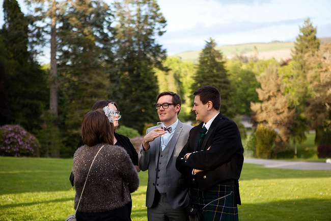 {Lillian and Leonard Wedding Photography} Blair Castle photobooth