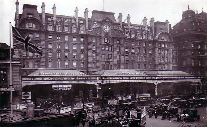 gutted arcades of the past victoria railway station london. Black Bedroom Furniture Sets. Home Design Ideas