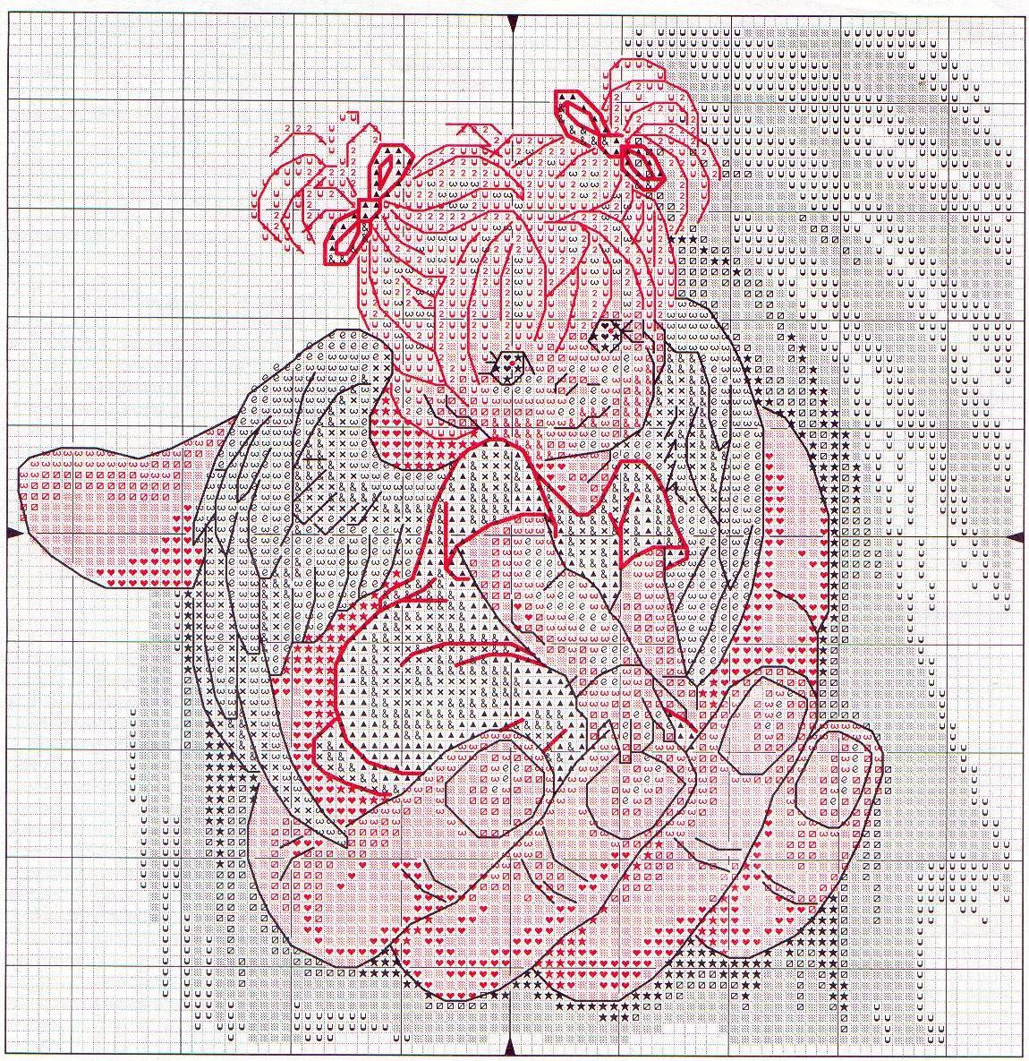 Схема для вышивки своими руками 854