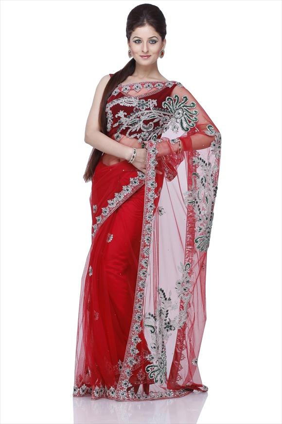 Net Saree latest