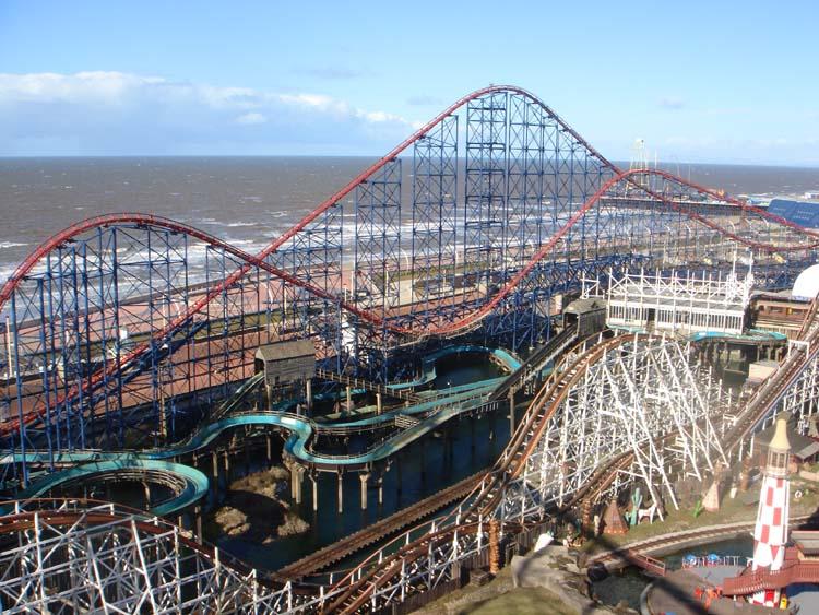 Blackpool Pleasure Beach - YouTube