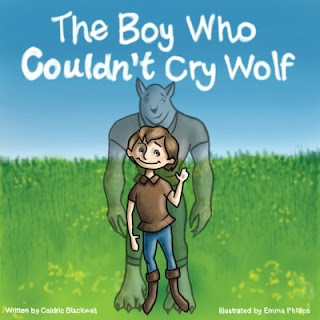 Caldric, the boy who cried wolf picture book, free kindle children's picture books, kindle unlimited children's books, wolf picture book, boys pictures books