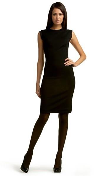 Elegant BLACK FUNERAL DRESS  BLACK FUNERAL