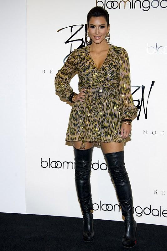 """Kim Kardashian – """"Belle Noel"""" Jewelry Line Promotion in New York"""