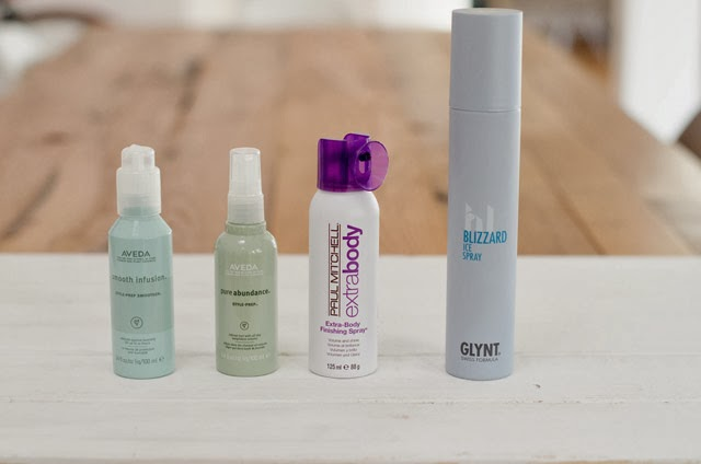 Styling Favorites Aveda, Paul Mitchell, Glynt