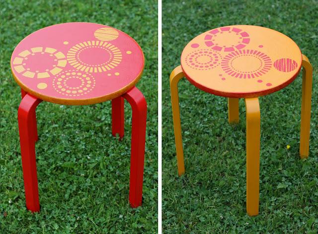 Трафареты для стульев