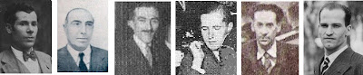 Josep Devesa, Ramón Cunillera, Josep Durán, Bojan Marcoff, Dr. Antoni G.Castellà y Jaime Casas