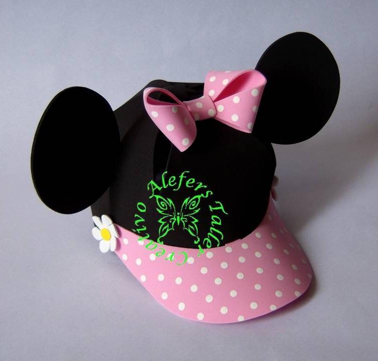 Gorras  Minnie Mouse  En Foami