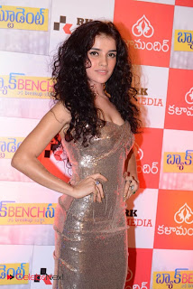 Piaa Bajpai Picture Gallery in Shoulderless Long Dress at Back Bench Student Movie Premier Show ~ Celebs Next