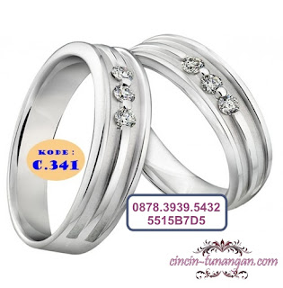cincin tunangan couple no 341