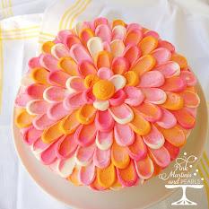 Pretty Pink Petal Cake