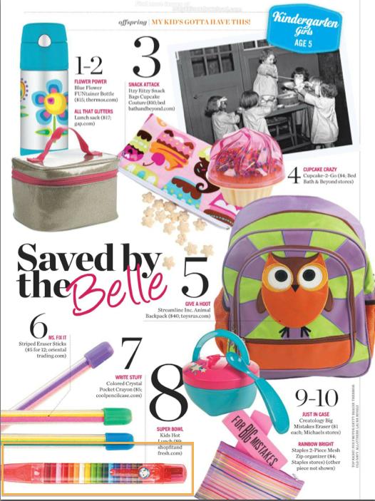 parenting magazine case