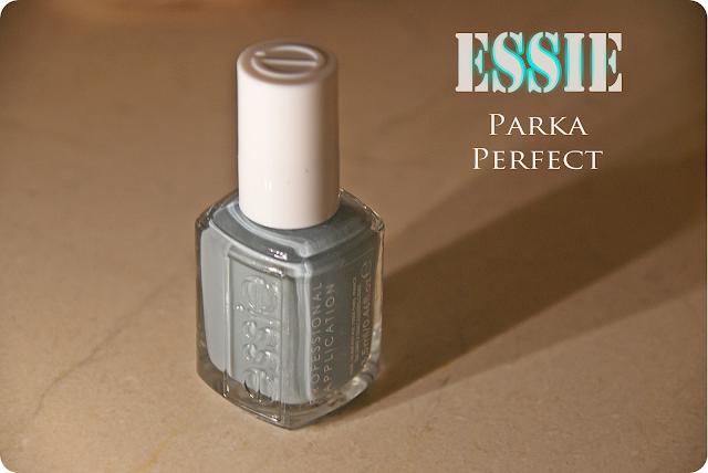 Essie Parka Perfect + Wibo effect matte glitters