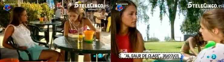 Paula Echevarría, Berta, Al salir de clase, Telecinco