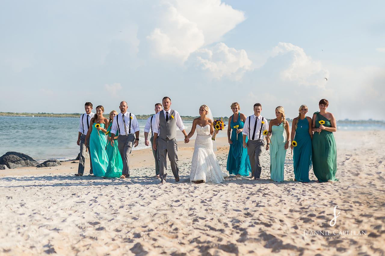 Castlegate Vilano Beach Wedding