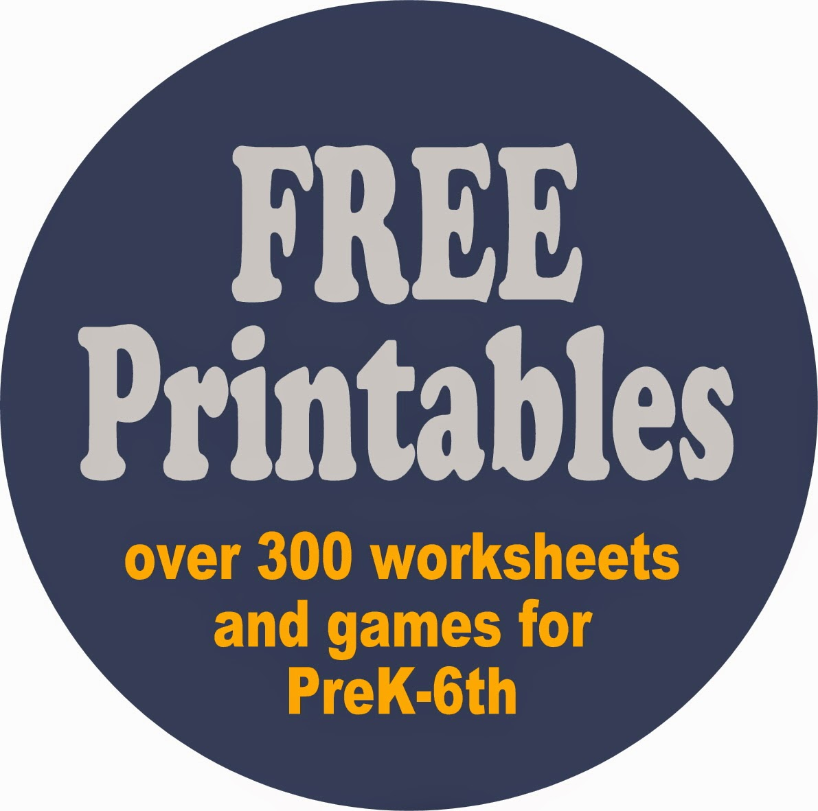 123 Homeschool 4 Me: Worksheets for Kids