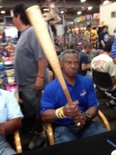 my Manny Mota Bat Story