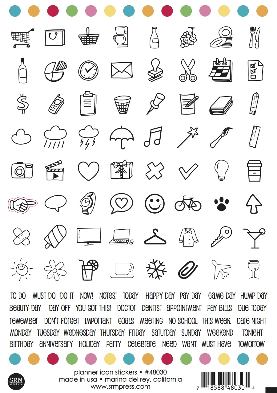 srm stickers day 1 new product introductions planner day 1 new product introductions planner stickers stamps