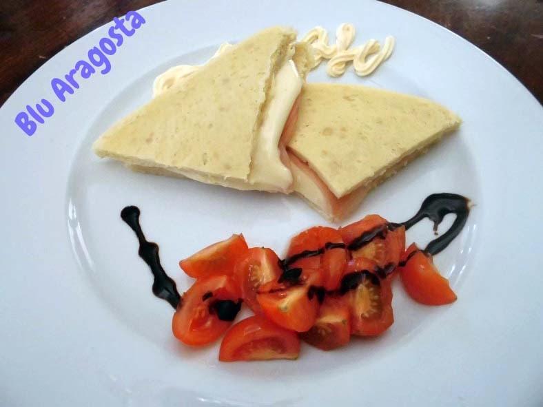pane bianco per tramezzini dukan pp / pv