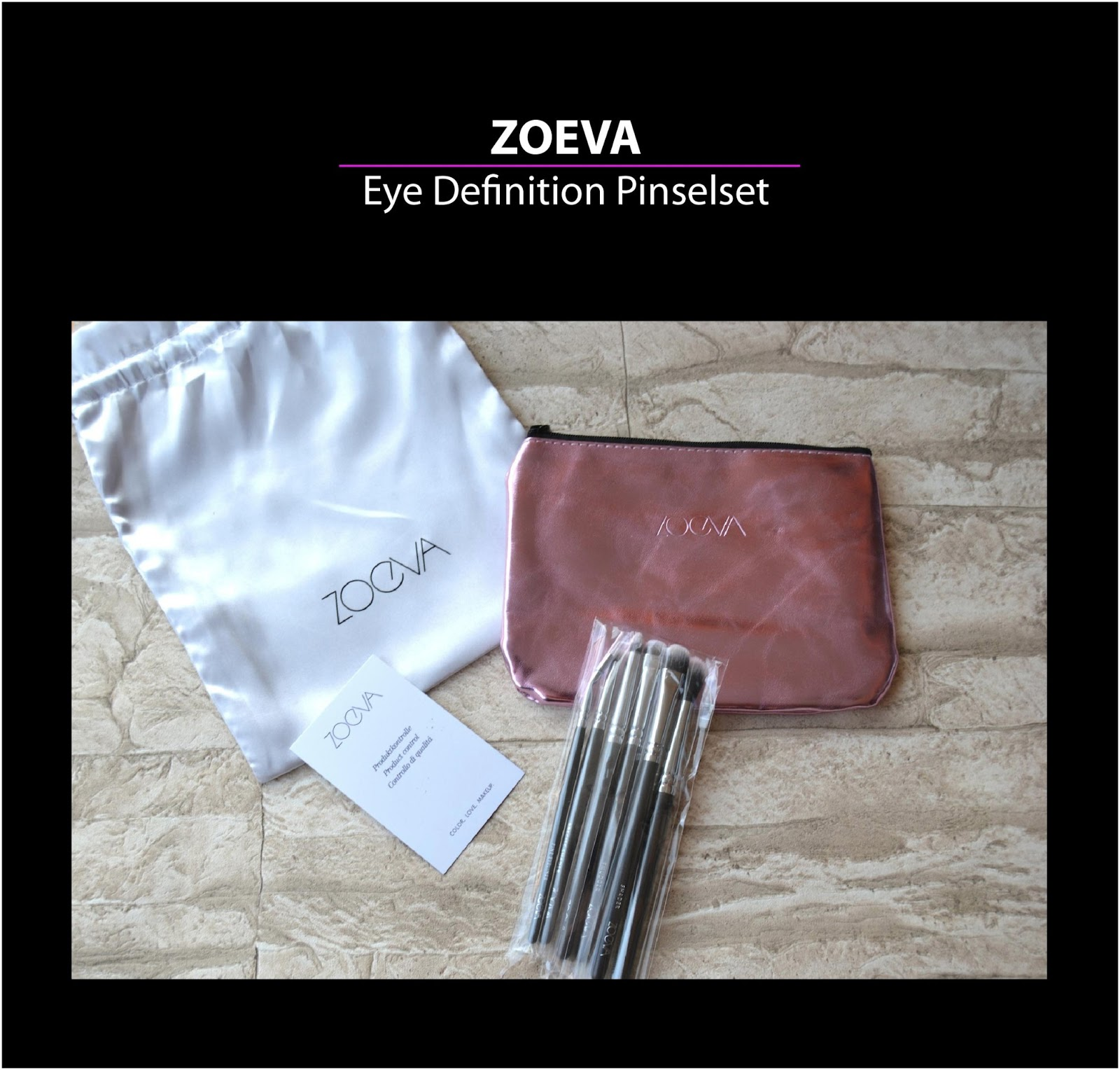 kleinesmau make up blog review zoeva eye definition. Black Bedroom Furniture Sets. Home Design Ideas
