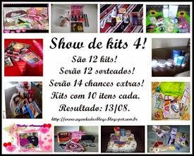Mega Sorteio Show de kits 4! No Agenda dos Blogs