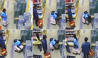 Aksi Mencuri di Minimarket Terekam CCTV