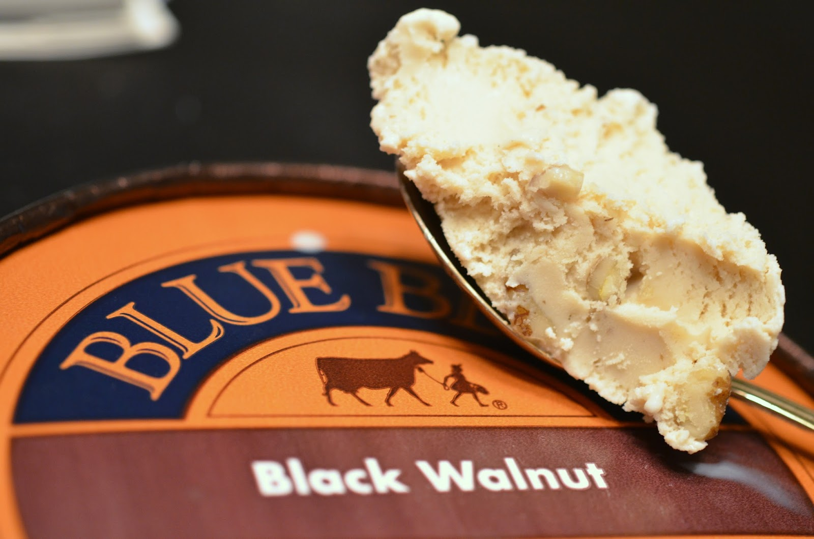 food and ice cream recipes REVIEW Blue Bell Black Walnut