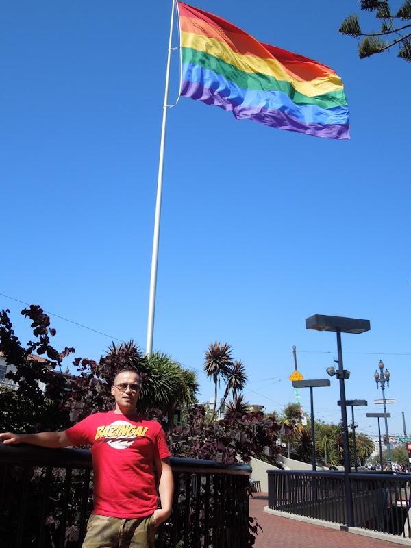 Giant Pride flag Castro