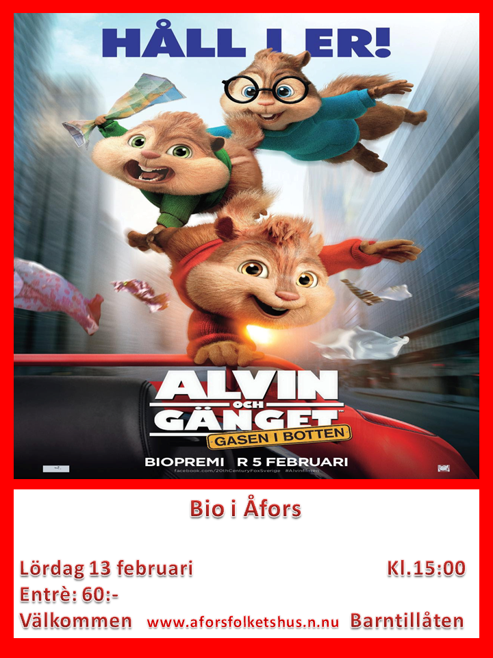 Alvin och Gänget 4