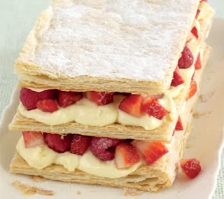 Summer Fruit Millefeuilles