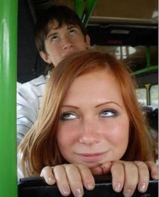 What do you thing about this couple on the bus? Is'nt they look like having sex on the bus?
