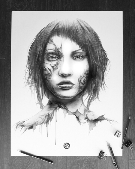 Los dibujos de Pierre-Yves Riveau. PEZ Λrtwork