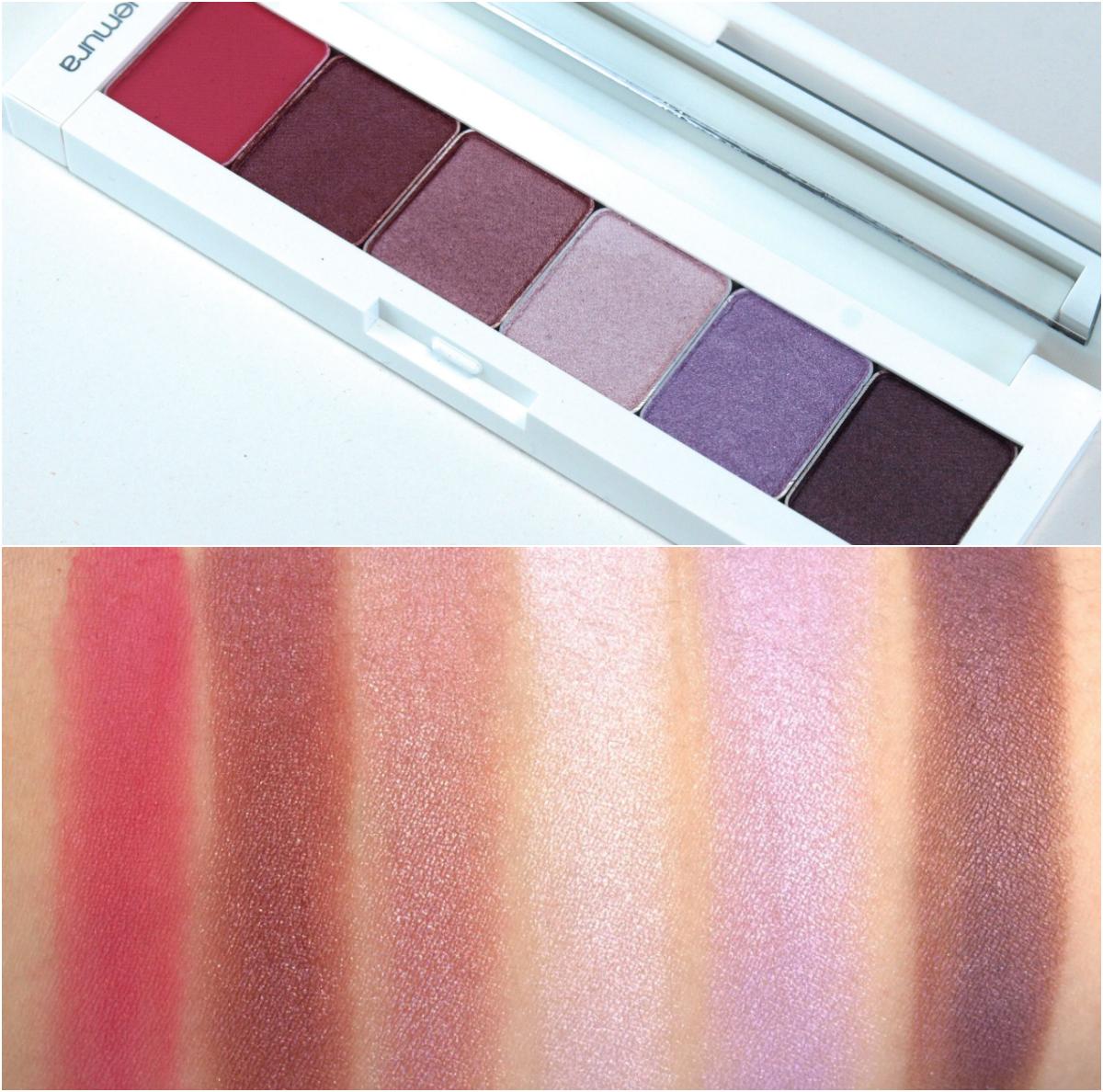 Shu Uemura Brave Beauty Eye Palette Swatches